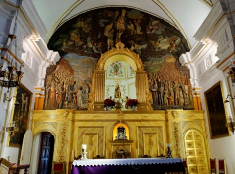 The church of Santa María Real in Aledo