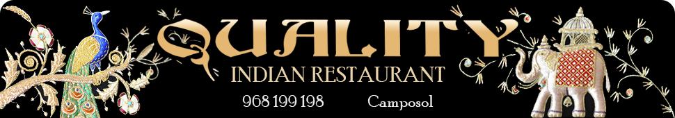 Quality Indian Restaurant Camposol