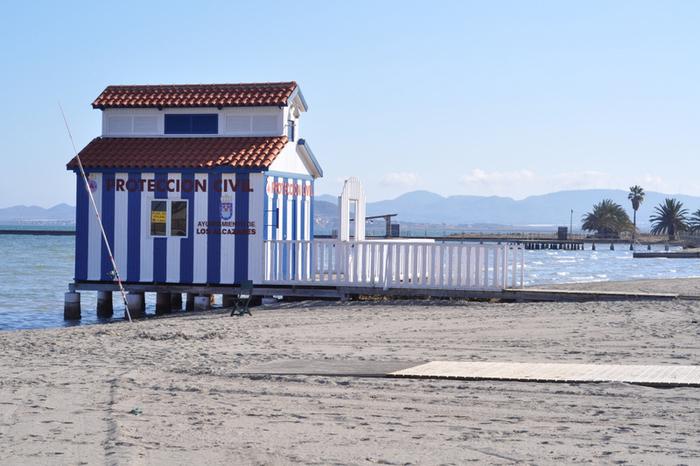 Los Alcázares beaches: Playa de La Concha