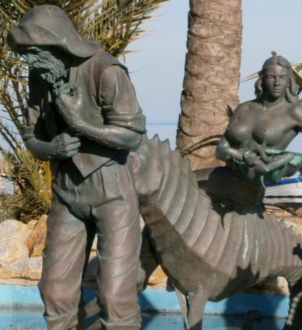 Monumento al pescador, Los Alcázares