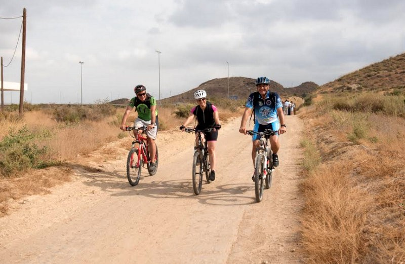 The Via Verde de Mazarrón walking and cycling route: First section