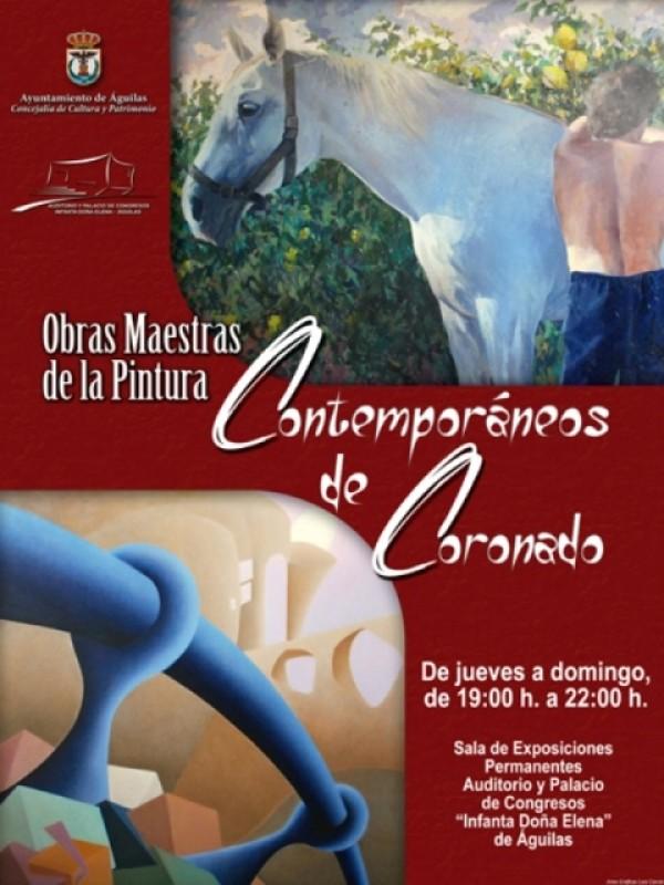 Permanent exhibition in Águilas Auditorium: Colección Privada de Coronada