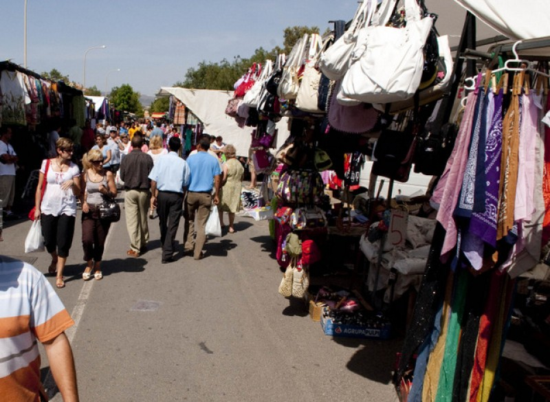 Weekly markets in the municipality of Cartagena