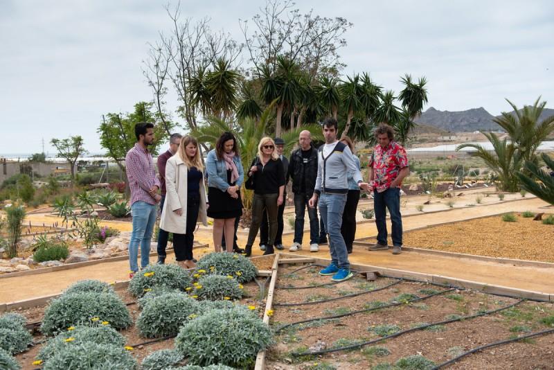 Botanical educational garden in Mazarrón