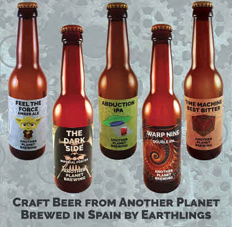 <span style='color:#780948'>ARCHIVED</span> - Craft Beer Tours and Tasting at Another Planet Brewery Torre Pacheco