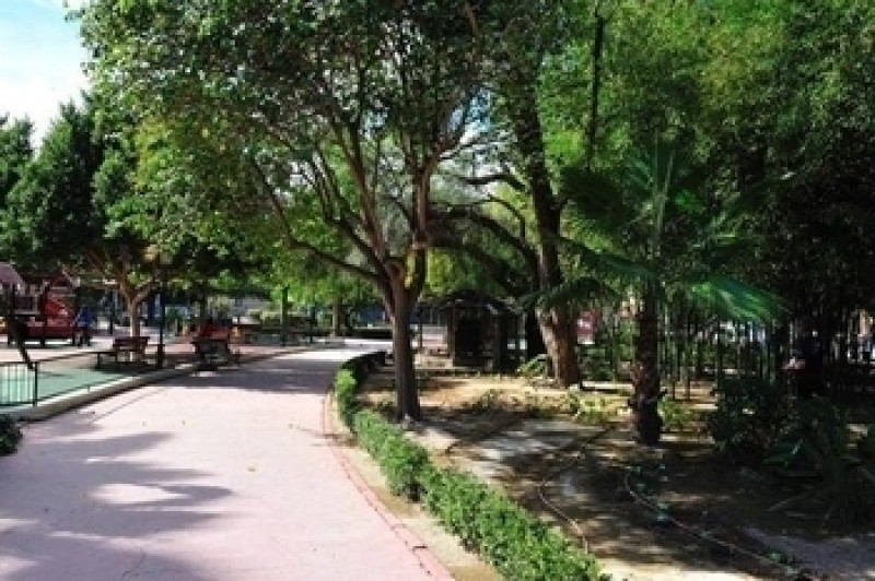 Parque de la Cubana in Alhama de Murcia