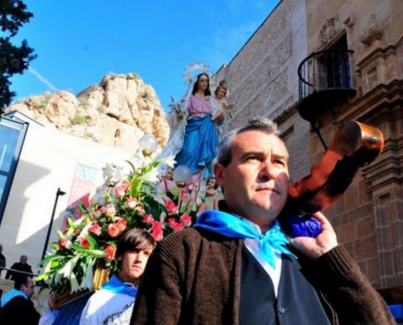 The annual Romería de la Candelaria in Alhama de Murcia