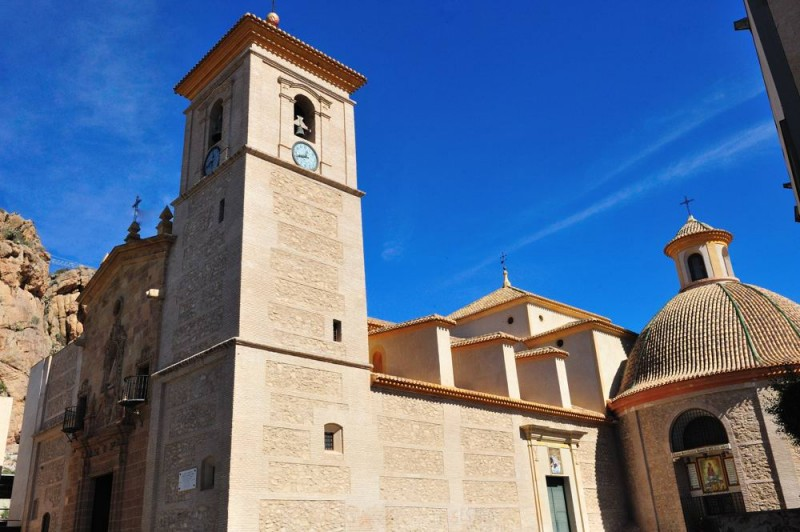 Churches and Mass times in Alhama de Murcia