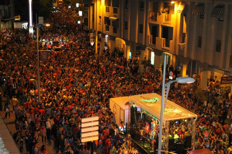 Los Mayos, a fiesta of national tourist interest in Alhama de Murcia
