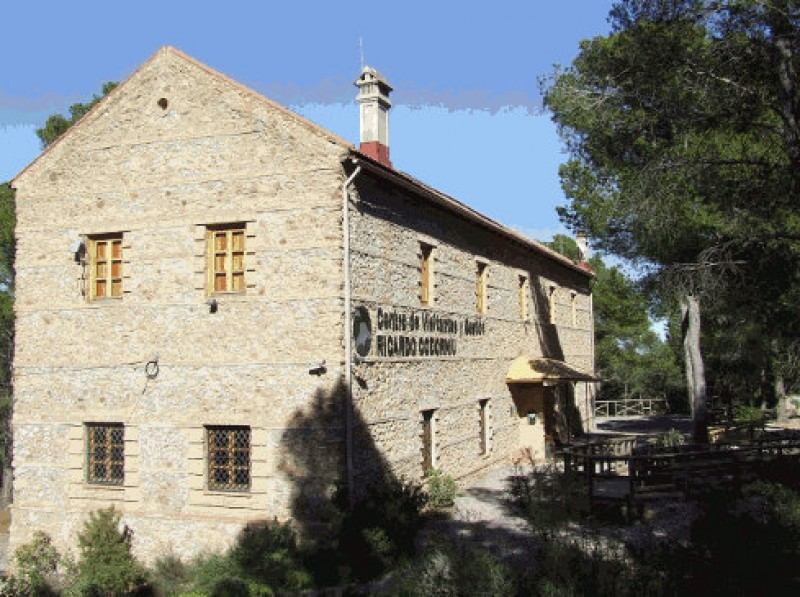 Ricardo Codorníu visitors centre, Sierra Espuña