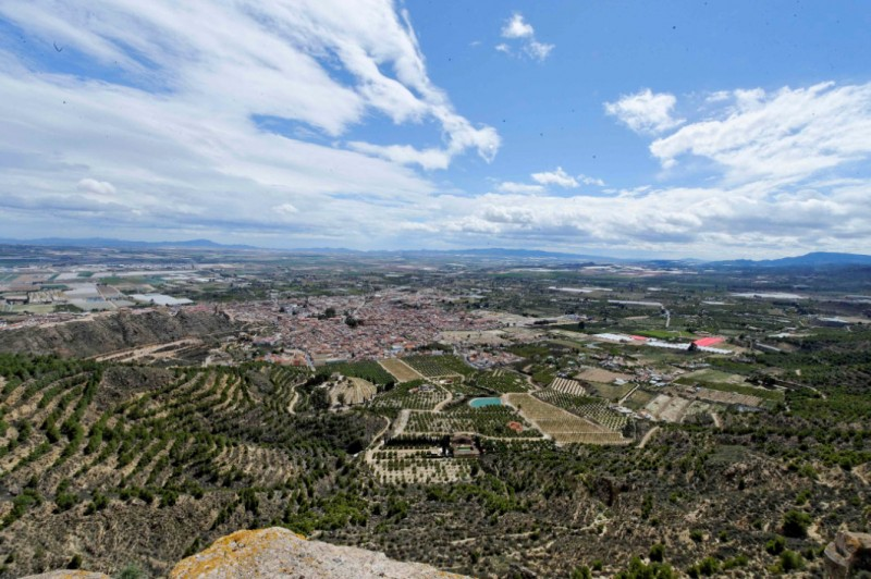 Mirador de la Muela viewing point and Pino Gordo in Sierra Espuña