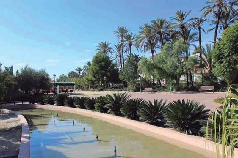 Jardin El Palmeral in Alhama de Murcia