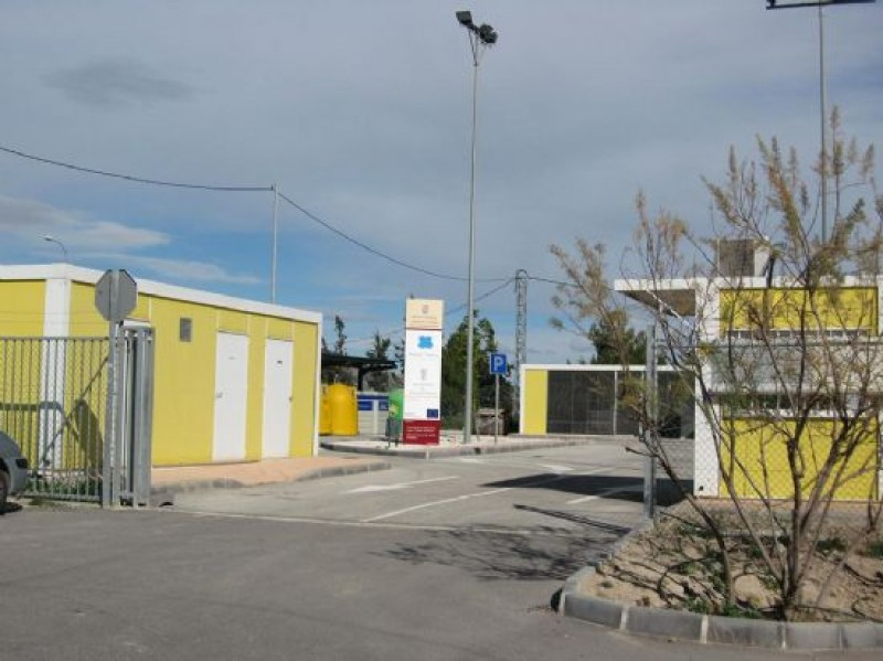 Ecoparque waste disposal unit in Alhama de Murcia