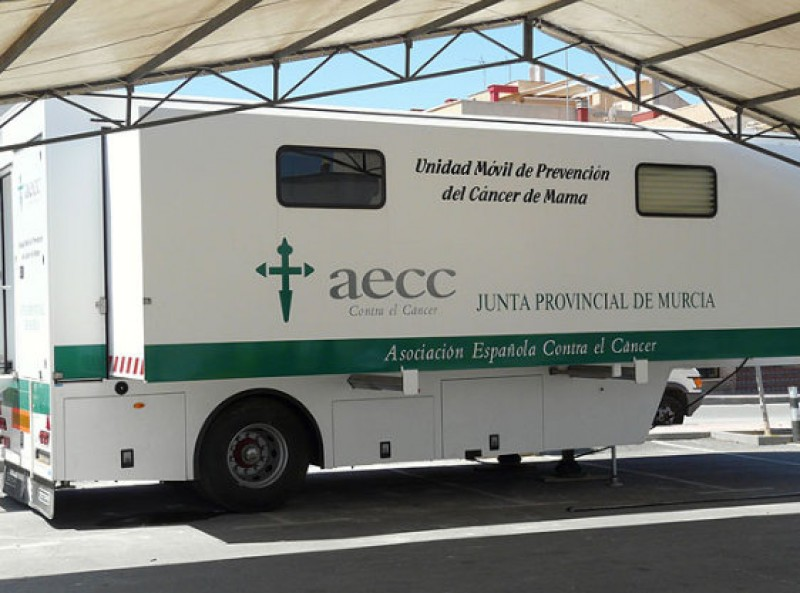 <span style='color:#780948'>ARCHIVED</span> - 27th June, breast cancer scanning campaign in Mazarrón