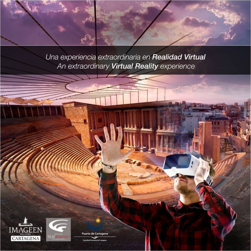 Tours and activities and events at the Roman Theatre Museum in Cartagena July and August 2019