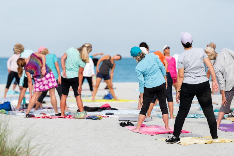 <span style='color:#780948'>ARCHIVED</span> - Free keep fit activities every weekday on Mazarrón beaches