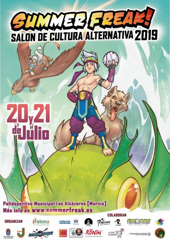 <span style='color:#780948'>ARCHIVED</span> - 20th and 21st July Los Alcázares Summer Freak