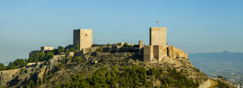 <span style='color:#780948'>ARCHIVED</span> - Lorca castle in September: Opening times, day and evening tours, special packages