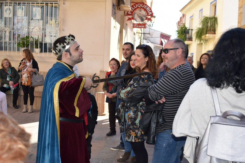 <span style='color:#780948'>ARCHIVED</span> - Sunday 20th October Free theatrical guided tour of Alhama de Murcia