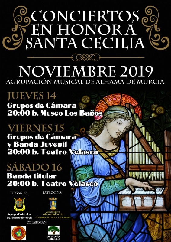 <span style='color:#780948'>ARCHIVED</span> - What's on in Alhama de Murcia 11th to 17th November