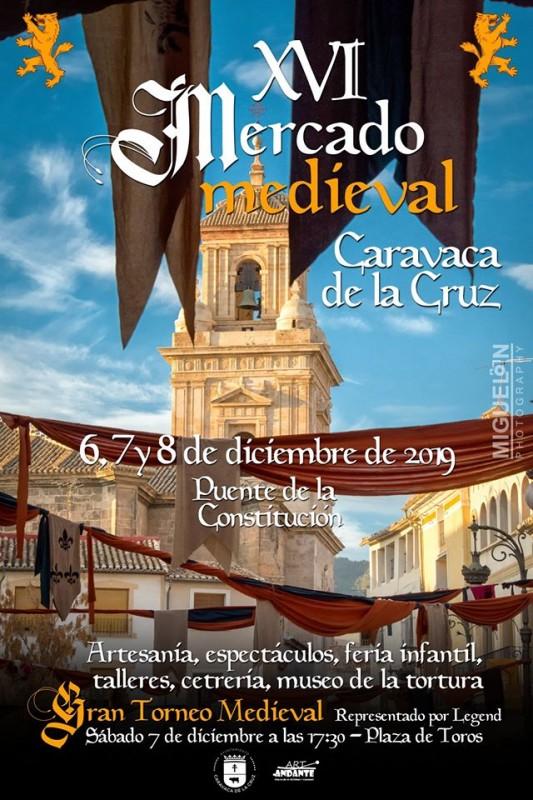 6th, 7th and 8th December Mediaeval market in Caravaca de la Cruz