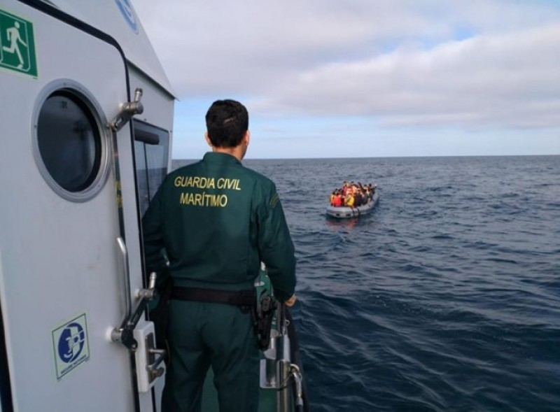 <span style='color:#780948'>ARCHIVED</span> - 68 African migrants detained as they reached the Costa Cálida this weekend