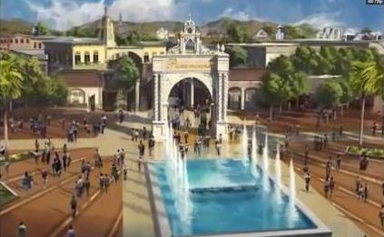<span style='color:#780948'>ARCHIVED</span> - Pedro Cruz says 90% of Paramount Park attractions will be world firsts