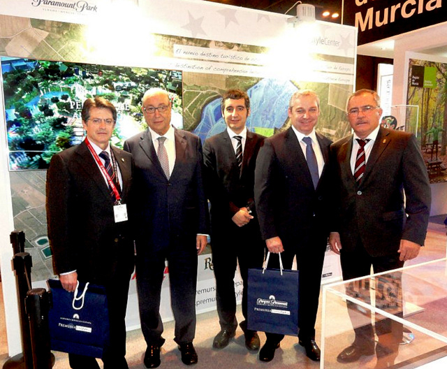 <span style='color:#780948'>ARCHIVED</span> - Murcia presents the Paramount Park project in Fitur