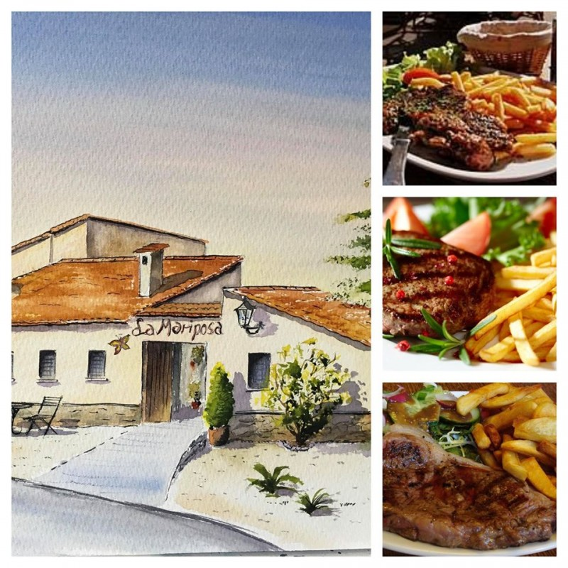 <span style='color:#780948'>ARCHIVED</span> - Free steak meal deal at the Hotel la Mariposa in the Sierra Espuña Spring 2020