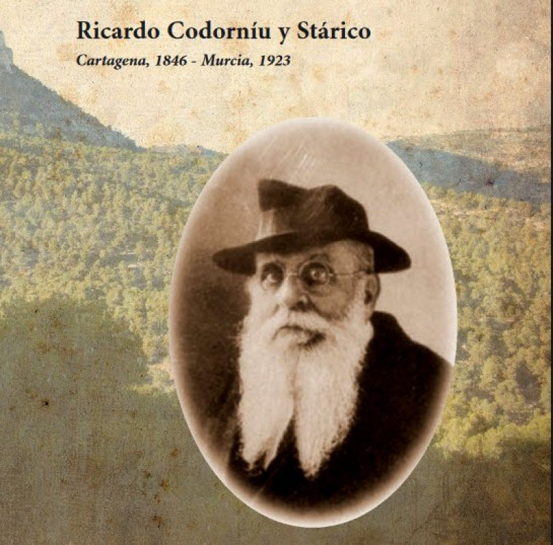 English language leaflet about the man who planted the Sierra Espuña