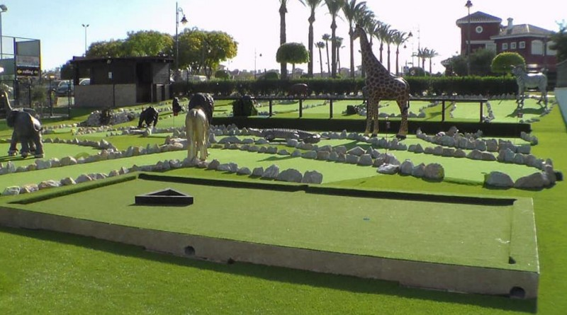 Fun n Games African Adventure Golf, fun for all the family in the Mar Menor Golf Resort