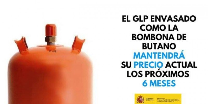 <span style='color:#780948'>ARCHIVED</span> - Gas bottle prices frozen for 6 months to combat corona virus crisis