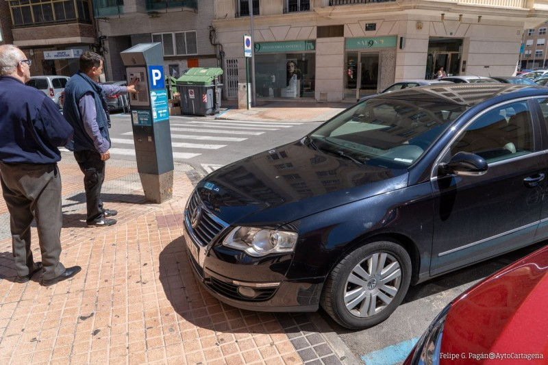<span style='color:#780948'>ARCHIVED</span> - Free parking in blue zones is OVER in Cartagena, Lorca and Murcia city