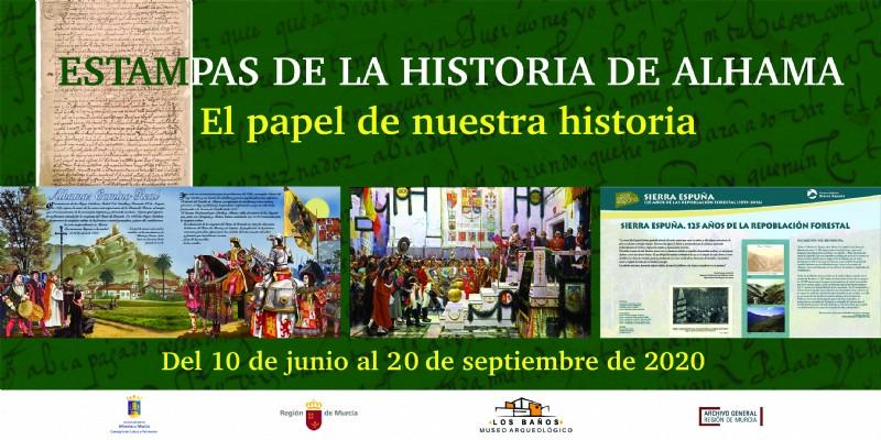 <span style='color:#780948'>ARCHIVED</span> - Exhibition: Estampas de la historia de Alhama in Alhama de Murcia