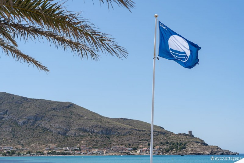 <span style='color:#780948'>ARCHIVED</span> - Blue Flag beaches in the municipality of Mazarrón 2020