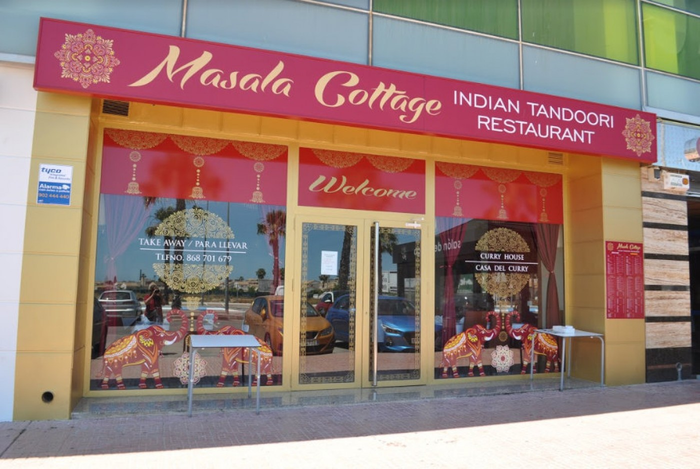 Masala Cottage Indian restaurant in Los Alcázares