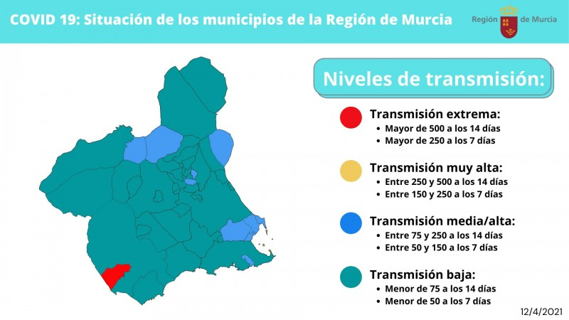 <span style='color:#780948'>ARCHIVED</span> - Region of Murcia Covid restrictions April 14 to 20