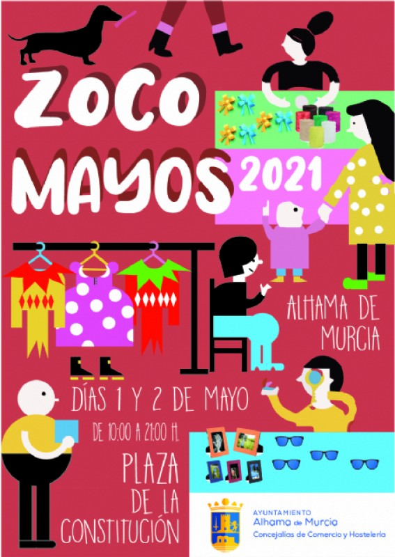 <span style='color:#780948'>ARCHIVED</span> - 29th April to 9th May, Los Mayos fiestas in Alhama de Murcia