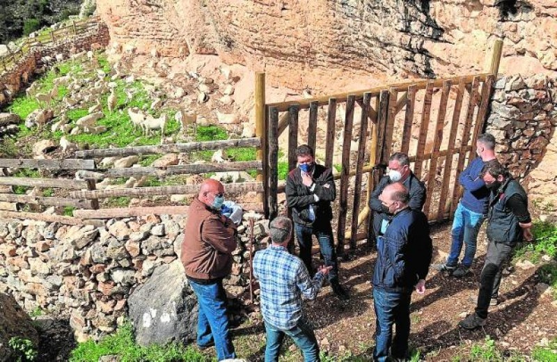 <span style='color:#780948'>ARCHIVED</span> -  14,000-euro restoration of traditional sheepfold completed in Sierra Espuña