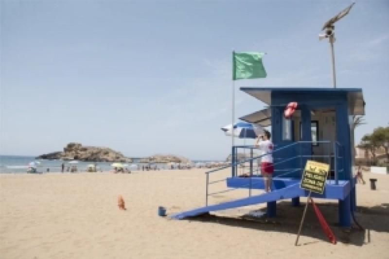 Mazarrón approves beach lifeguard services for summer 2021