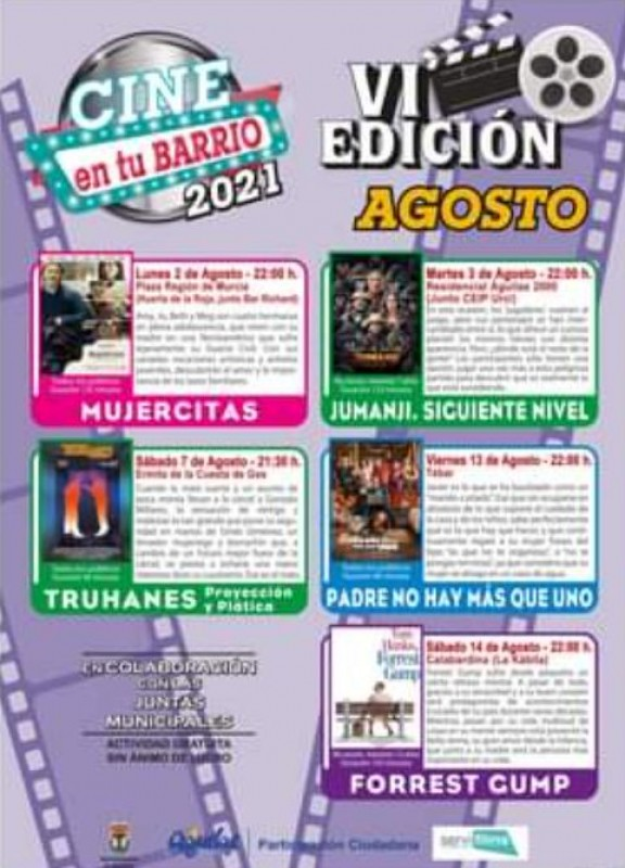 <span style='color:#780948'>ARCHIVED</span> - Enjoy a free family film outdoors this summer in Aguilas