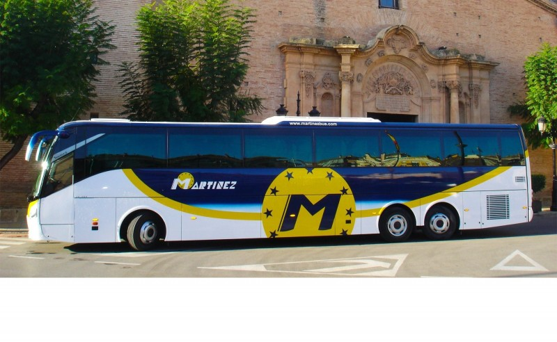 <span style='color:#780948'>ARCHIVED</span> - New summer bus schedule in Alhama de Murcia