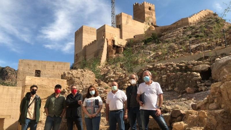 Restoration work begins at historic Alhama Castle