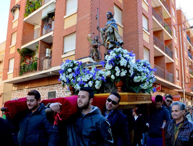 Domingo de Piñata in BLanca: San Roque retreats for Lent