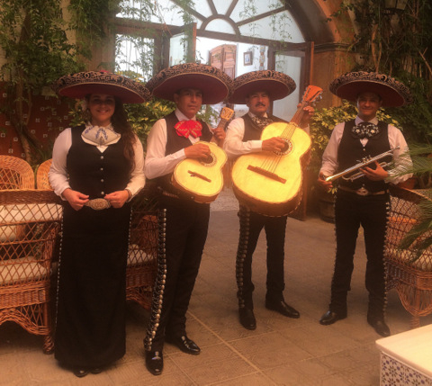 <span style='color:#780948'>ARCHIVED</span> - Mexican Mariachi band every Wednesday at the Hotel La Encarnacion in Los Alcázares
