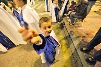 Martes Santo, Holy Tuesday in Alhama de Murcia