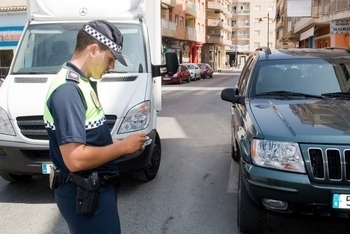 Policia Local, local police force telephone numbers and addresses in the Region of Murcia