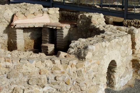 The Roman villa of Los Villaricos in Mula