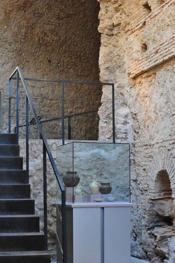 The Los Baños archaeological museum in Alhama de Murcia