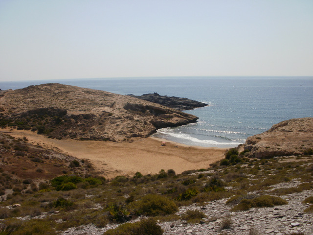 Cartagena beaches: Playas de Calblanque
